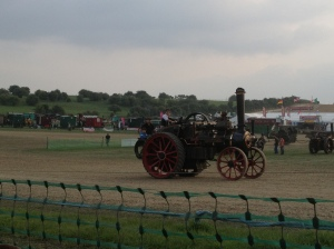 A traction engine