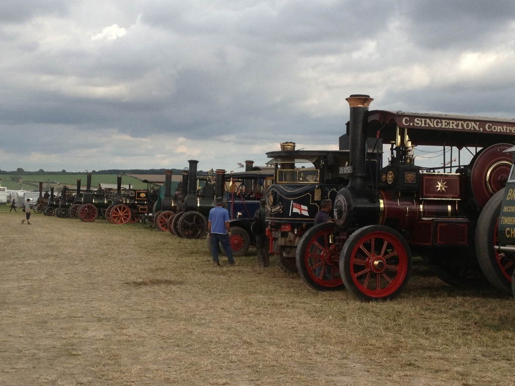 Many traction engines :-)