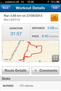 27 sept run