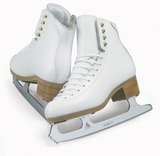Ice skates which were nothing like the ones I hired...