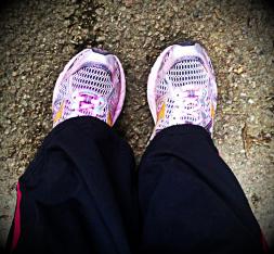 pink feet