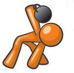 orange Kettlebell