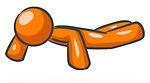 orange push up