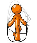 13191-Orange-Man-Jumping-Rope-During-A-Cardio-Workout-Clipart-Illustration