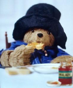 PB = Paddington Bear