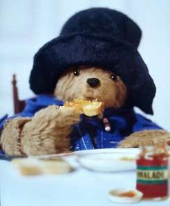PB = Paddington Bear