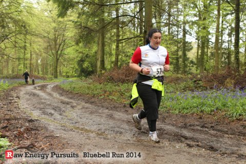 Raw Energy Pursuits Bluebell Trail Runs 2014 by SussexSportPhotography.com