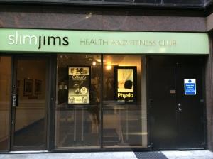 Slim Jims... I didn't meet Jim...