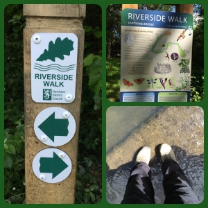 Riverside walk