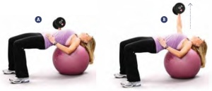 swiss-ball-chest-press