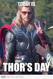 I am pretty sure Thor didn't wear shades...