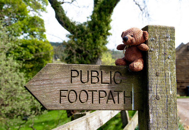 barnsworth finds a footpath
