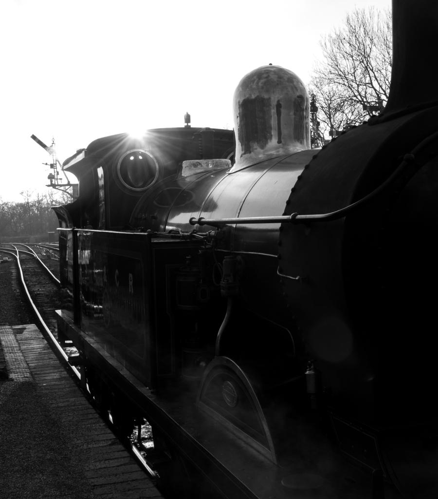 engine black and white