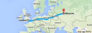london to moscow