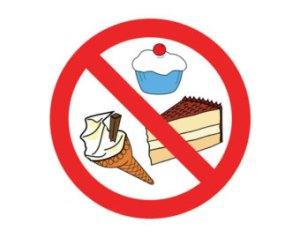 no sweets!