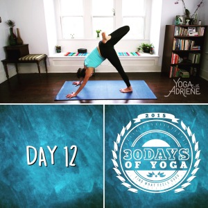 This pose is awesome for your hips...even if you feel like you are falling over!