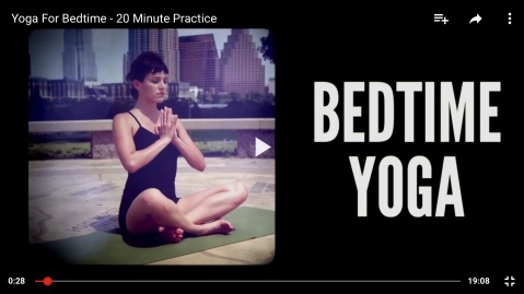 17th april bedtime yoga