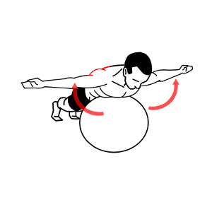 exercise ball - prone t - thumbs up 2_300