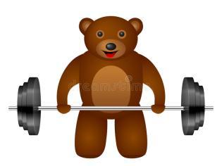 bear-weight-white-background-63645774