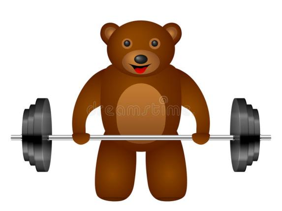 bear-weight-white-background-63645774